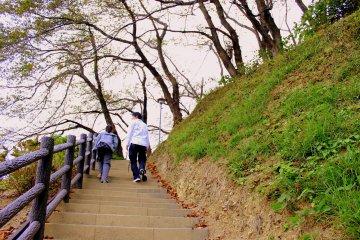 Yahatayama Park in Shizuoka City