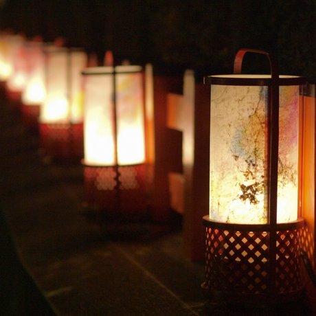 งานประดับไฟแห่งเกียวโตในเดือนมีนาคม