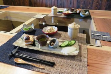 Stunning home made breakfast at Maruichi Boathouse