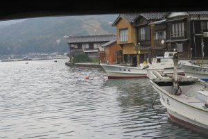Ine is just two hours away from Miyazu and Maizuru Cruise Ship Terminal