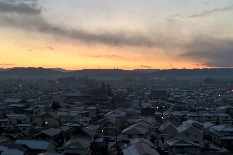 Lever de Soleil sur Hanamaki 2016