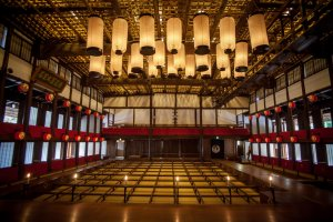 Konpira Grand Theater, Japan's oldest surviving kabuki theater