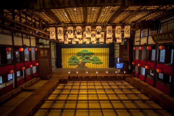 Panggung Konpira Grand Theater di Kotohira