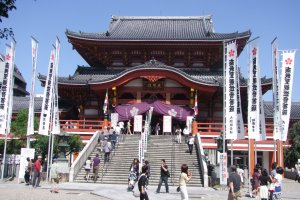 Osu Kannon Temple's main hall
