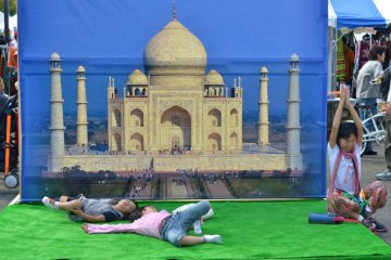 The enticing Taj Mahal