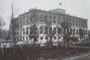 1927年創業当時のホテル・ニューグランド