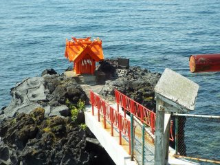 Seaside shrine