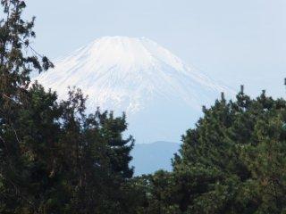 Gunung Fuji dilihat dari Taman Alam Anak- Anak