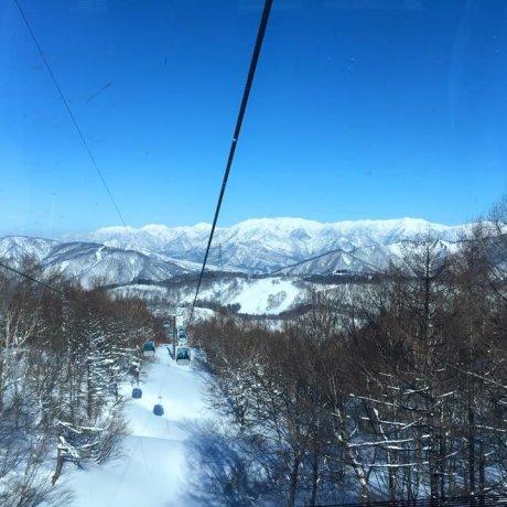 Pondok di Gunung Wada-goya, Niigata
