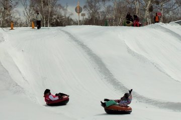 Tubing is fun for all ages.
