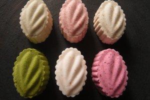 6 parfums d'higashi, fraise, thé vert, yuzu...