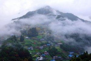 le Village d'Ochiai dans la vallée d'Iya