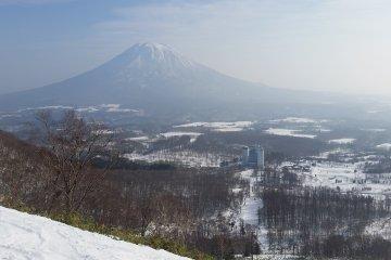 View from Niseko Village Ski Resort