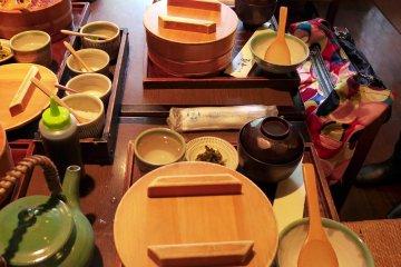 กินปลาไหลที่ Hitamabushi Senya