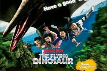 Jurassic Park: The Flying Dinosaur