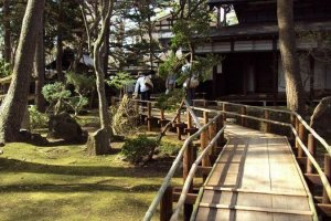 A samurai's garden.