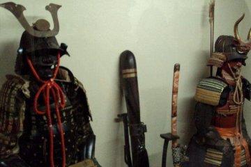 Some samurai houses display their family history.