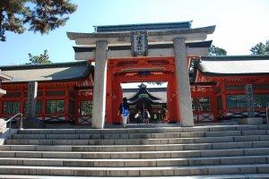 Entrée de Sumiyoshi-taisha