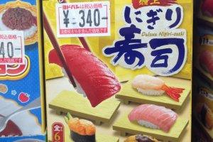 Mini nigiri-sushi
