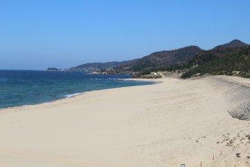 Kotohikihama Beach, northern Kyoto
