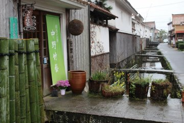 White-walled storehouses in Kurayoshi