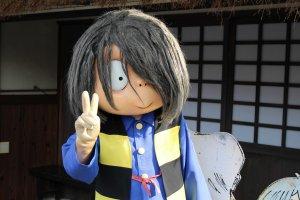 Tottori Highlight: Live-action Gegege no Kitaro characters along Mizuki Shigeru Road