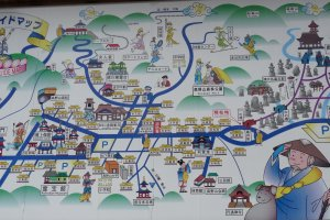 Koya San Guide Map