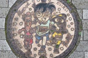 Miệng cống trên đường Conan