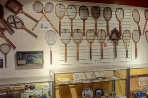 Various types of rackets