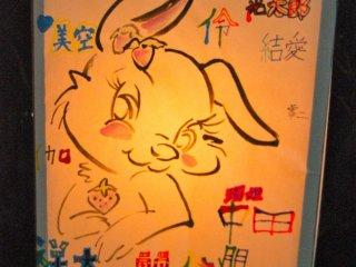 "I was drawn to this ""kawaii"" lantern"