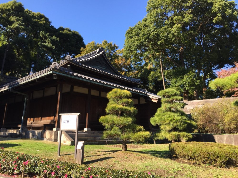 Un pavillon à proximité du jardin Ninomaru