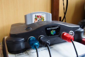 The N64 in all its glory.