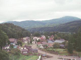 Pemandangan memukau lain dari perjalanan darat ke Niigata