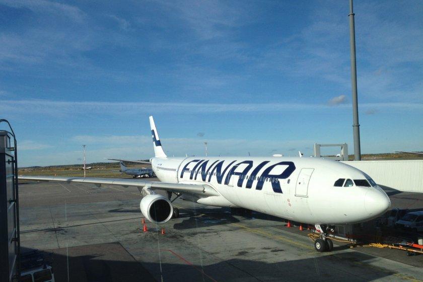 A Finnair voa nos seus enormes Airbus 340 nas rotas para o Japão