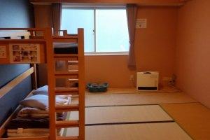Private twin room