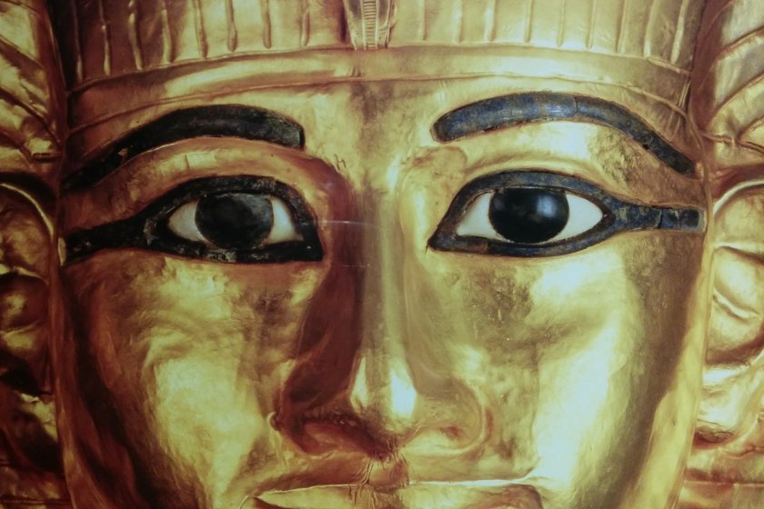 Imagem da máscara de ouro
