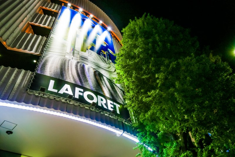 The Laforet building