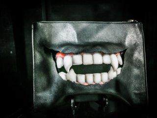 Handmade vampire clutch from MALICIOUS.X
