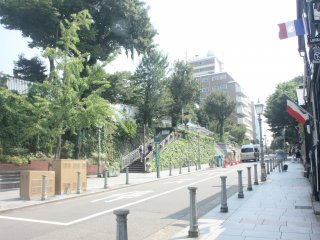 Kitano Ijinkan - khu vực thích hợp dành cho người đi bộ