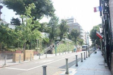 Kitano Ijinkan such a friendly area for pedestrian