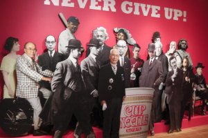 Cup Noodle's inventer in elite company