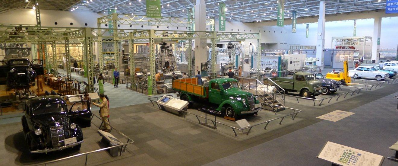 Une salle immense pour l\'histoire automobile