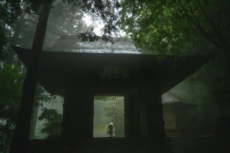 四国霊場20番札所と最古の遍路道