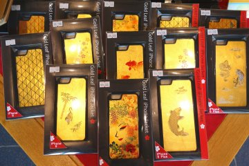 Glamour up your iPhone with a special gold leaf casing