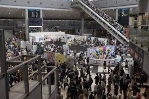 國際展示中心會場