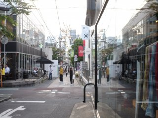 瀰漫著藝術氣息的街巷