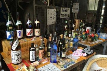 Two Awamori Distilleries in Shuri