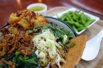 อาหารในโรงอาหาร อร่อย สีสันสวยสด และเต็มไปด้วยคุณค่าทางอาหาร