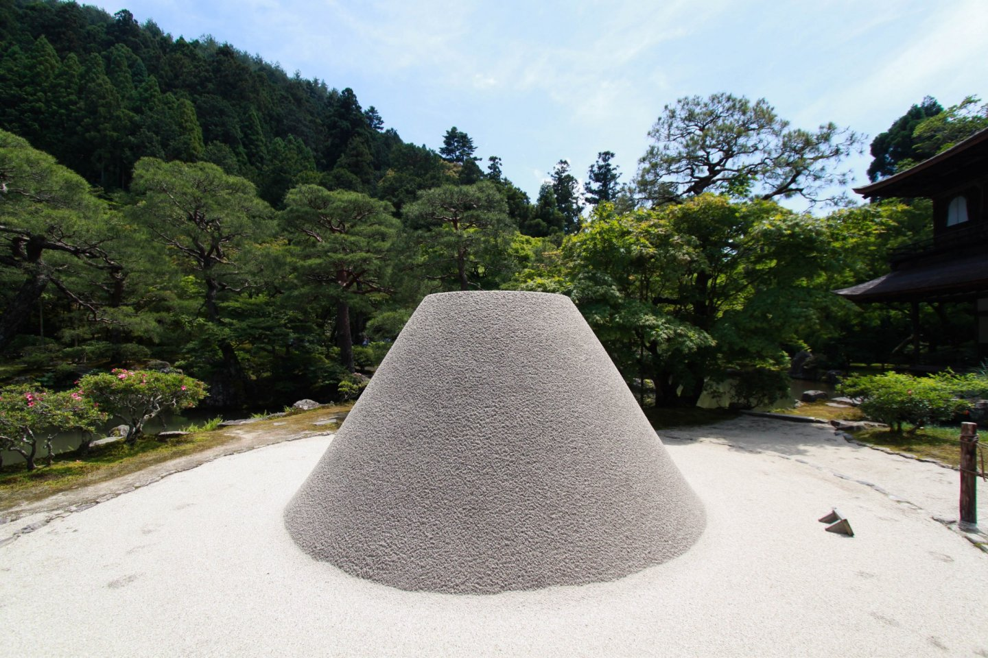 A sand cone named \