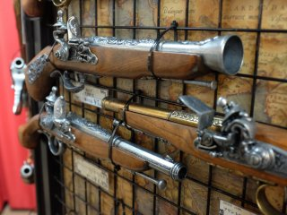 Flintlock pistol at Akihabara Busou Shoten